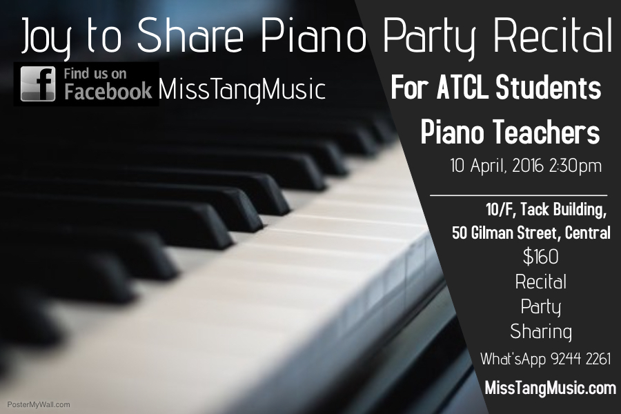 Joy to Share Piano Party Recital
