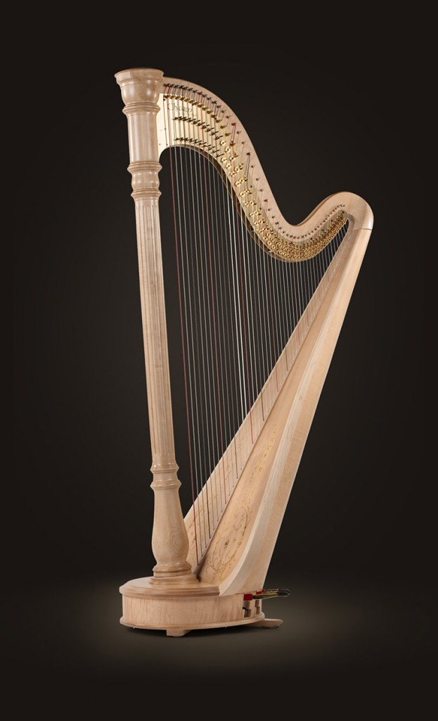 "$133,000 Chicago Concert Grand Extended 47 strings: 0 octave G to 7th octave C; Height: 73"" (185 cm); Soundboard Width: 21 5/8"" (55 cm); Extreme Width: 38 5/8"" (98 cm); Weight: 83 lbs (37.6 Kg) Finishes: Natural, Mahogany and ebony"